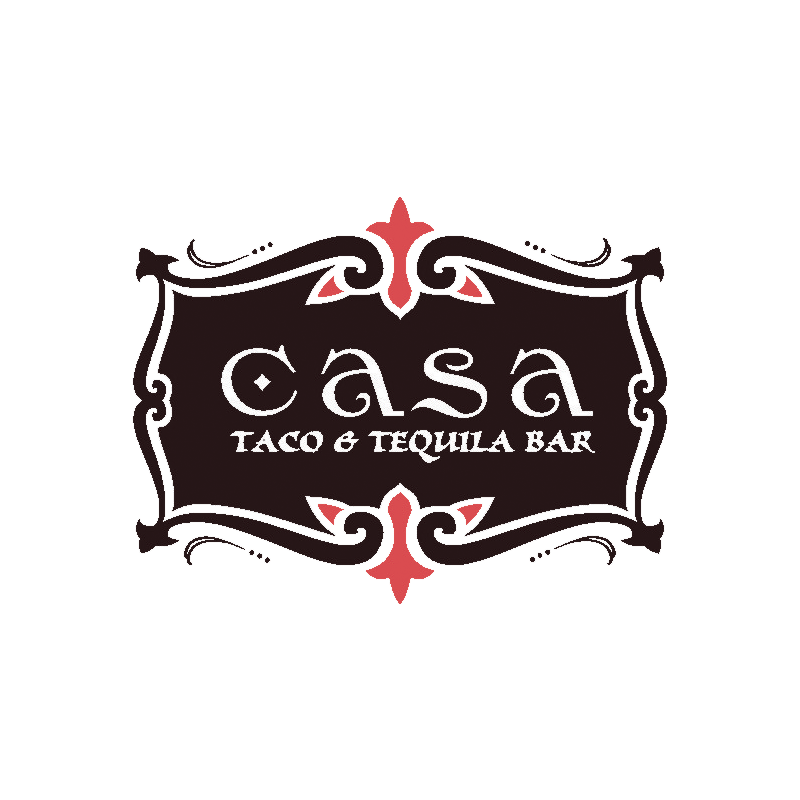 logo casa taco and tequila bar
